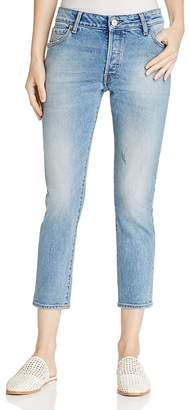 Warp and Weft CDG Cigarette Jeans in Belle $98 thestylecure.com