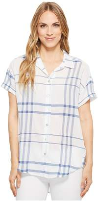 Liverpool Rounded Shirt Women's Short Sleeve Button Up