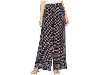 Angie Printed Pants Women's Casual Pants
