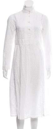 Thierry Colson Printed Midi Dress