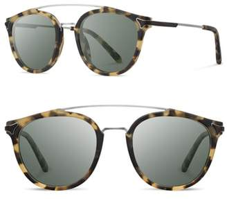 Shwood Kinsrow 49mm Acetate & Wood Sunglasses