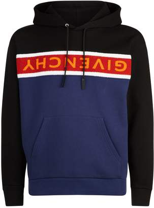 Givenchy Flannel Logo Hoodie