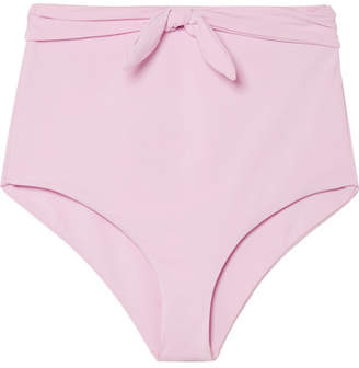 Mara Hoffman Jay Bikini Briefs - Pastel pink