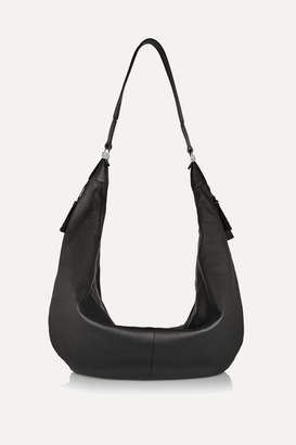 The Row The Sling Leather Shoulder Bag - Black