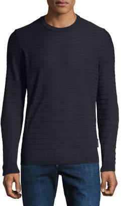 Emporio Armani Men's Maglia Tonal Stripe Sweater