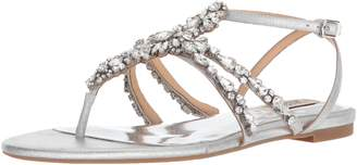 Badgley Mischka Women's Hampden Flat Sandal