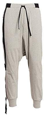Unravel Project Men's Baggy Asymmetric Jogging Pants