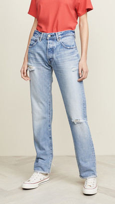 Moussy Vintage MV Steele Straight Jeans