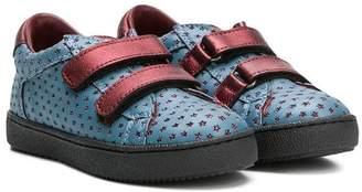 Pépé glitter star pattern sneakers