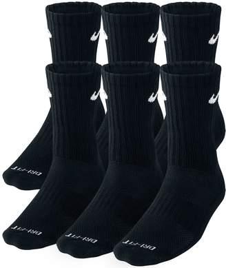 Nike 6-pk. Dri-FIT Crew Socks - Men