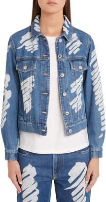 Moschino Scribble Denim Jacket
