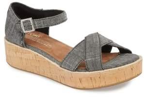 Toms Harper Platform Sandal