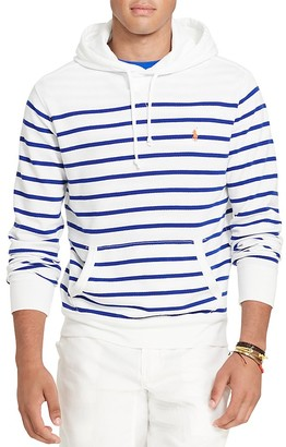Polo Ralph Lauren French Terry Hoodie Sweatshirt $125 thestylecure.com