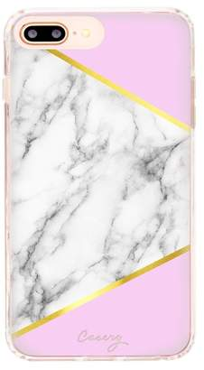 The Casery Marble Block iPhone 6/7/8 Plus Case