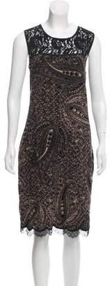 Marc Cain Wool Midi Lace Dress
