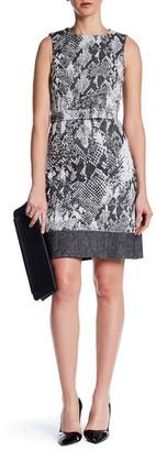 BOSS HUGO BOSS Crew Neck Sleeveless Dress $745 thestylecure.com