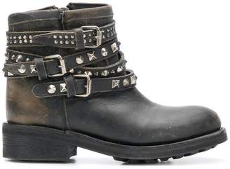 Ash Tatum Destroyer buckled boots