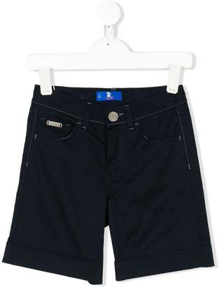 Stefano Ricci Kids embroidered sailboat bermudas