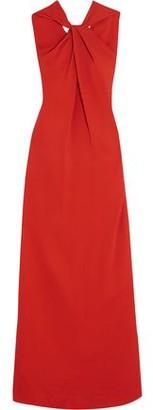 Lanvin (ランバン) - Lanvin Twist-Front Stretch-Crepe Gown