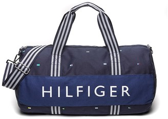 Final Sale-Signal Flag Duffle $49.50 thestylecure.com