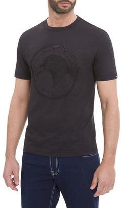 Stefano Ricci Eagle Crewneck T-Shirt $350 thestylecure.com