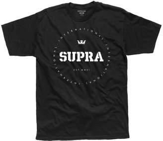Supra Mens Triblock Regular Tee Shoes