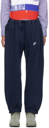 Bless Navy Overjogging Jean Lounge Pants