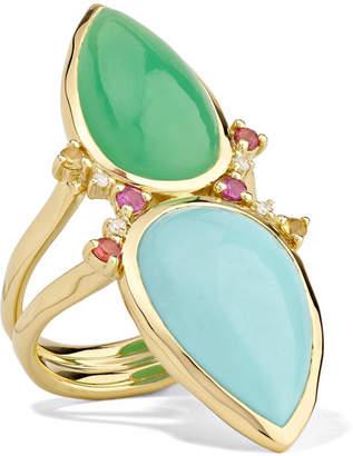 Ippolita Prisma 18-karat Gold Multi-stone Ring
