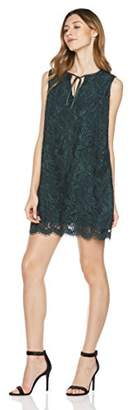 Savoir Faire Dresses Women's Sleeveless Keyhole Lace Fitted Dress with Lining