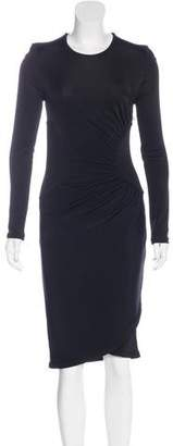 Givenchy Gathered Sheath Dress