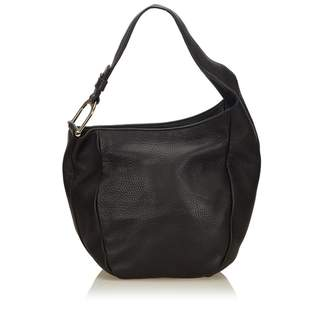 Gucci Vintage Leather Greenwich Hobo