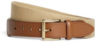 Brooks Brothers Canvas Leather Belt