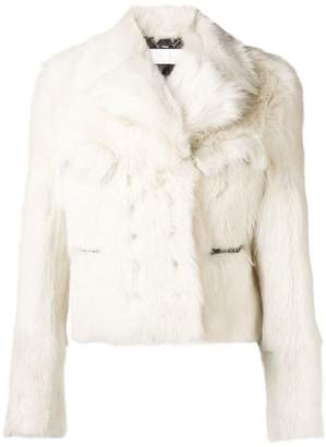 Chloé butter cream shearling jacket