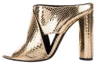 Tom Ford Embossed Slide Sandals