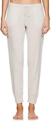 Myla Skin Women's Wool-Blend Crop Jogger Pants - Light Gray