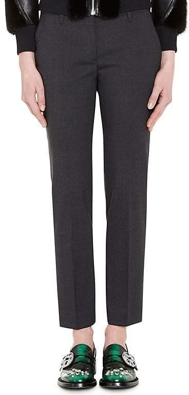 Prada Women's Wool Straight Leg Trousers