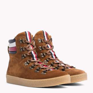 Tommy Hilfiger Suede Hiking Boots