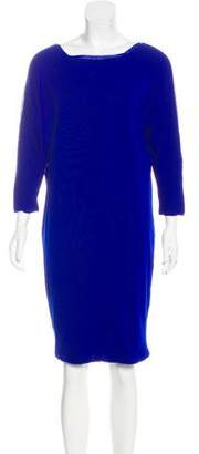 Fuzzi Long Sleeve Midi Dress