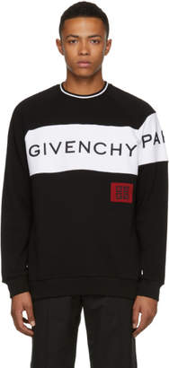 Givenchy Black and White 4G Vintage Fit Sweatshirt
