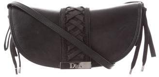 Christian Dior Leather Corset Crossbody Bag