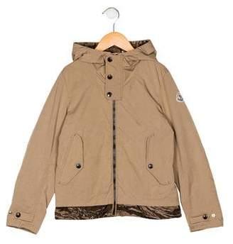 Moncler Girls' Hooded Jacket