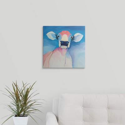 Wayfair 'Bella Blue' Ellman Painting Print