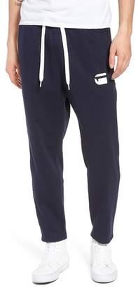 G Star Core Stripe Crop Sweatpants