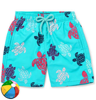 Vilebrequin Boys Ages 2 - 8 Jim Printed Shell Swim shorts - Blue
