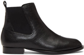 Rag and Bone Black Mason Boots