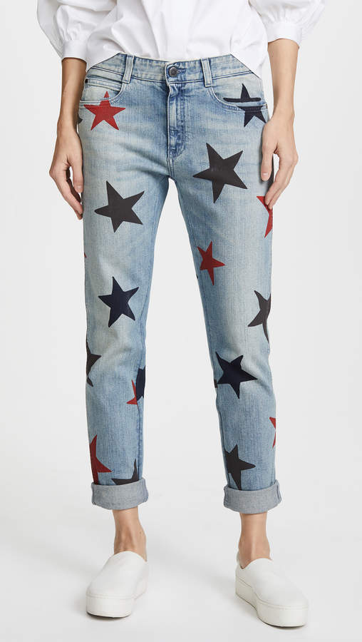The Skinny Boyfriend Jeans with Stars