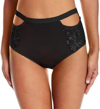 Honeydew Intimates Women's Erica Mesh and Applique High Rise Hipster