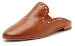Frye Gwen Pickstitch Flat Leather Mule
