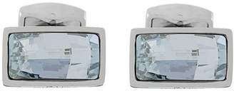 Tateossian Swarovski Element baguette cufflinks