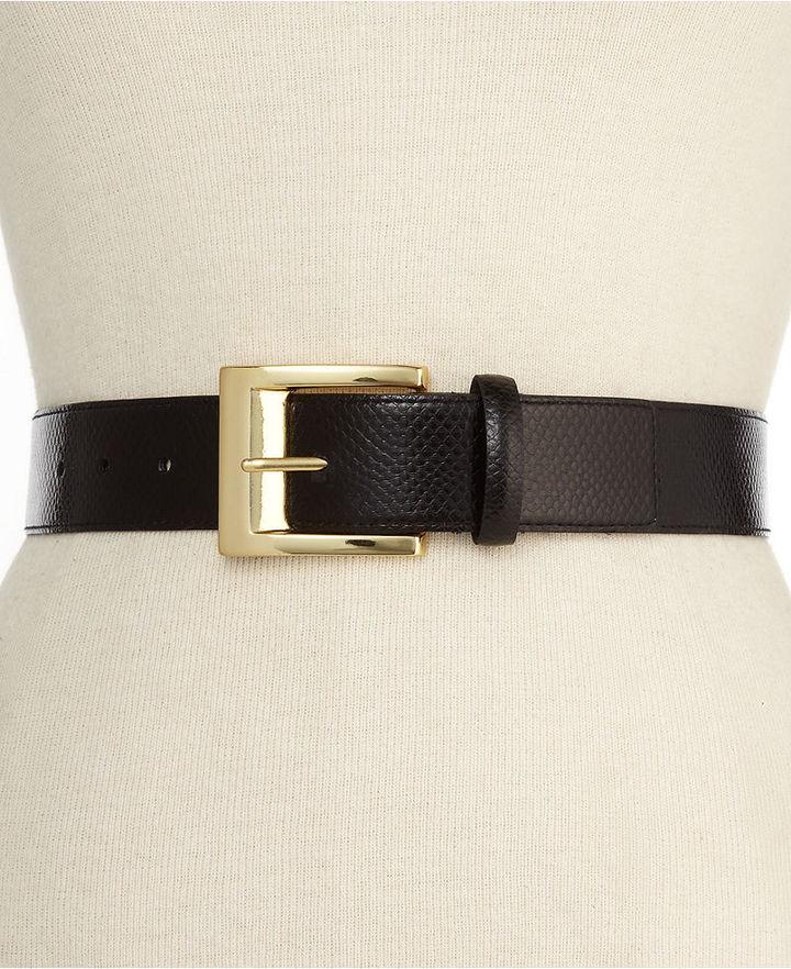 Nine West Belt, Python Waist Belt